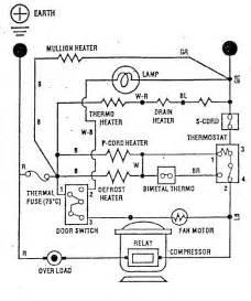 sanyo sr f270 circuit diagram refrigerator troubleshooting schematics