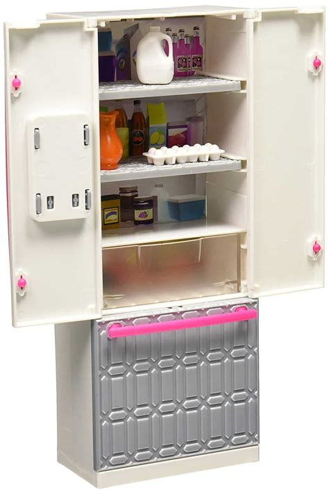 barbie fridge fun playset barbie collectibles