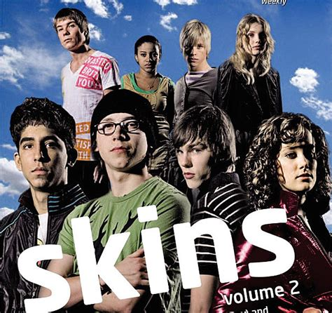 Skin Series then now the cast of skins