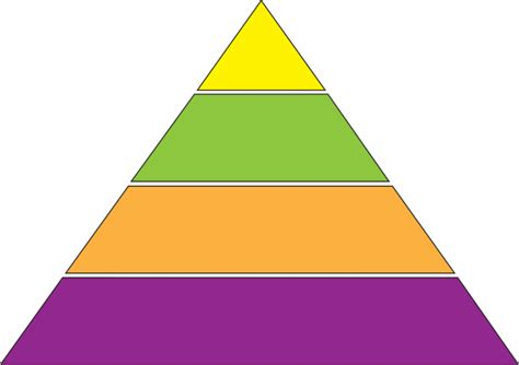 pyramid clipart concept pyramid diagram clip at clker vector