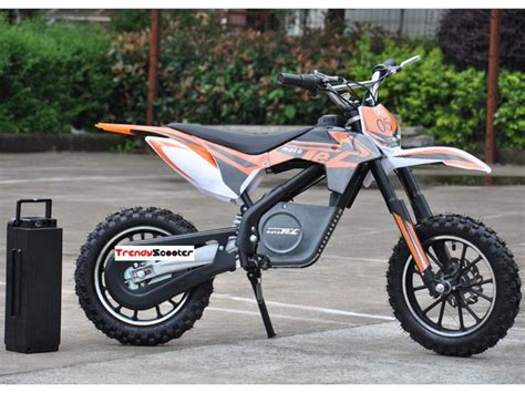 battery powered motocross bike mototec 24v 500w electric dirt bike