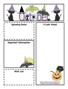 october newsletter template 1000 images about newsletter templates on