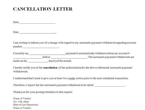 aia insurance cancellation letter course cancellation letter format 28 images