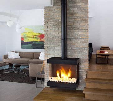 Standalone Gas Fireplace by Contemporary Stand Alone Gas Fireplaces All Products