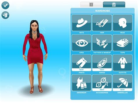 how to get long hairs on sims freeplay new create a sim interface in the sims freeplay youtube