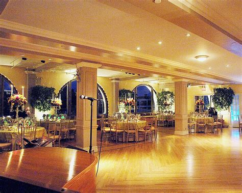affordable wedding reception venues in new york city 2 a view of one side of the floor and dining tables in