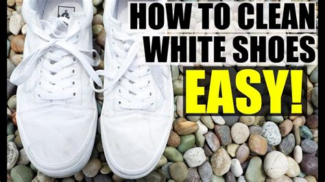 how to clean white shoes how to clean white canvas shoes easy way to clean white