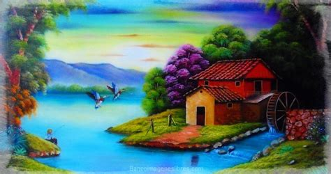 imagenes bonitas de paisajes naturales reales dibujos en fotos reales de paisajes naturales con colores