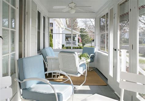 front porch small exterior tropical with hanging plant