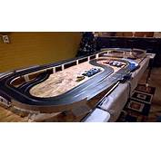 Scalextric Ford GT40 On New Track 1/32 Slot Car  YouTube