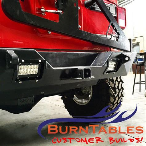 custom jeep bumper custom lcd mounts for a jeep bumper jeep bumper 4x4
