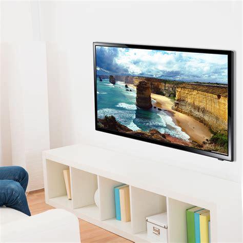 Lcd Tv Wall heavy duty 32 60in plasma tv led lcd bracket wall mount black plb102b bk selby