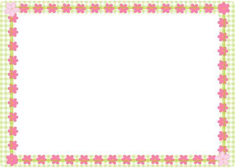 Border Tas Pink Unyu free digital flower border scrapbooking elements clipart