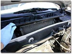 auto maintenance basics cabin air filter einstein s oilery