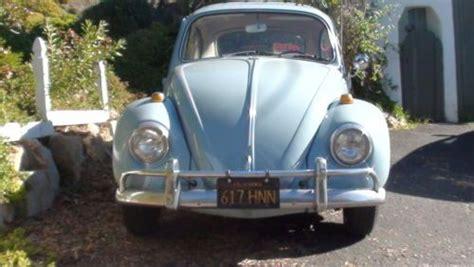 purchase   volkswagen bug factory sunroofrust   encinitas california united states