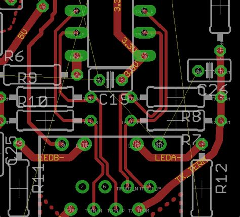 layout guidelines ethernet 10base t layout guidelines electronicsxchanger