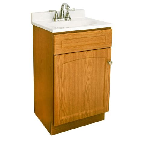 design house vanity top design house 19 in vanity in oak with cultured marble vanity top in white 545541 the home depot