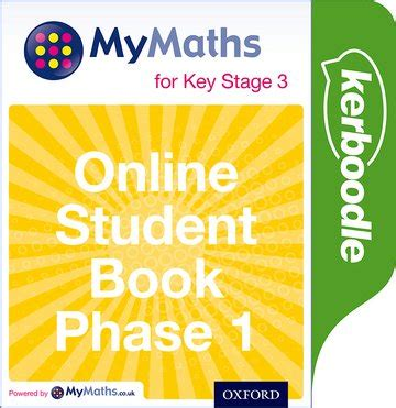 mymaths for key stage mymaths for key stage 3 online student book phase 1 oxford university press