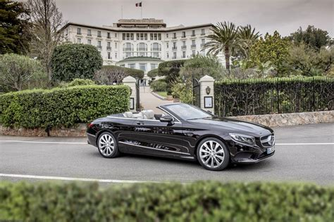 convertible mercedes black 2017 mercedes s500 s63 amg cabriolet review gtspirit