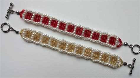 make jewelry at home for a company simple beaded pattern how to make beautiful bracelets at