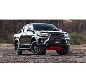2017 Toyota HiLux TRD Arrives From $58990  Photos