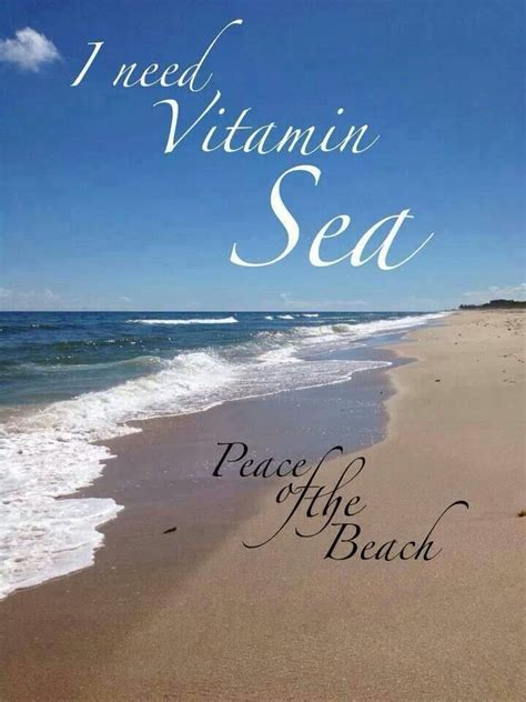 Vitamin Sea vitamin sea beachy things