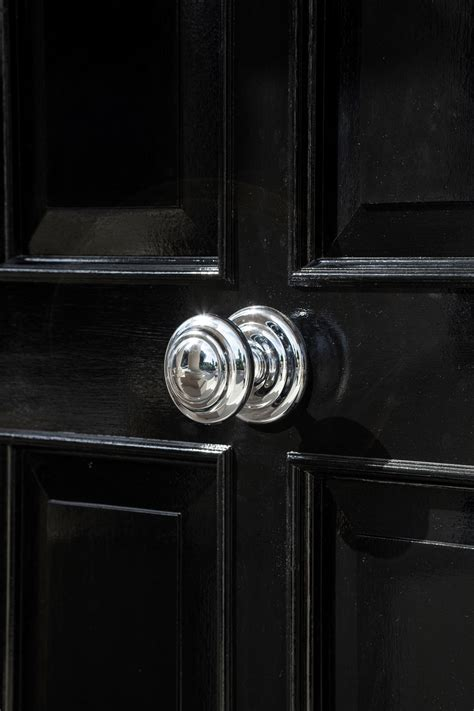 Front Door Knob by Exterior Faux Creation