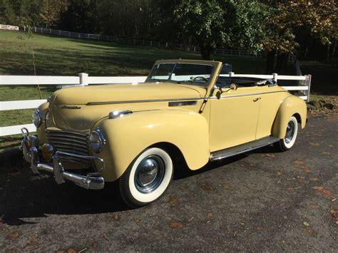 Chrysler Convertible For Sale by 1940 Chrysler New Yorker Convertible For Sale