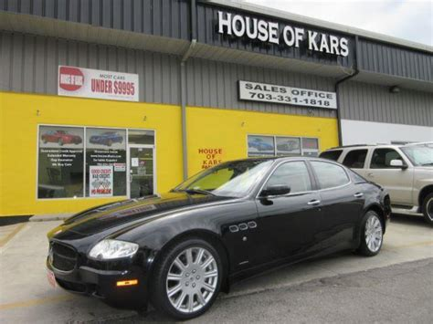 Maserati Quattroporte Maintenance by Used Maserati Quattroporte For Sale Special Offers Edmunds