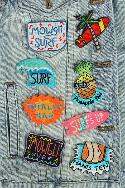 Patchwork Patches - patch mowgli surf