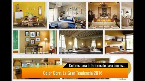 colores en decoracion de interiores colores para interiores de casa con estilo 2017