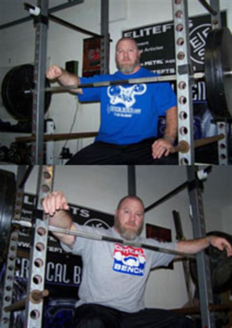 assisted bench press bar weight bench press considerations
