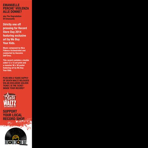 Waltz Record Store Day While Supplies Last Waltz Record Store Day Edition Of Emanuelle Perche