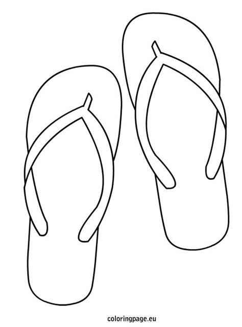 template of flip flops flip flop coloring page digi sts flipping white flip flops and outlines