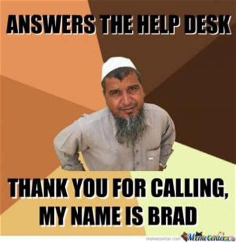 Help Desk Meme - desktop support jokes kappit