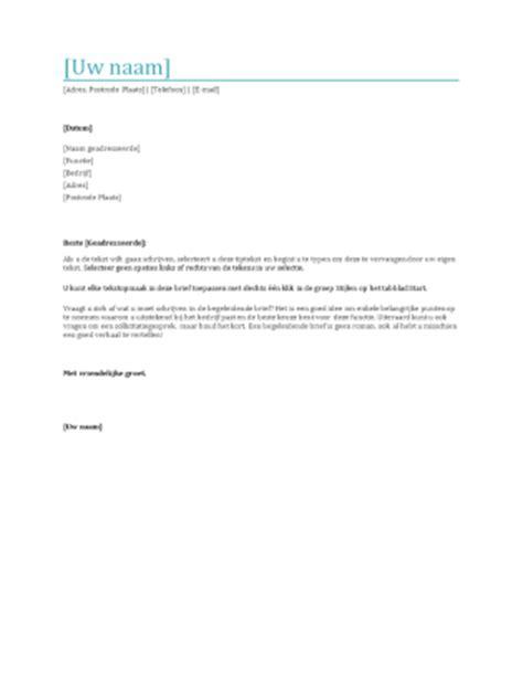 Voorbeeld Offerte Brief Als Begeleidend Schrijven begeleidend schrijven sollicitatie cv maken 2018