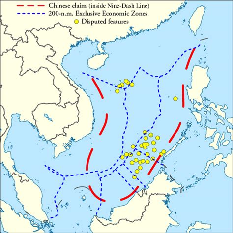 asia sea map the hague s south china sea ruling implications for east
