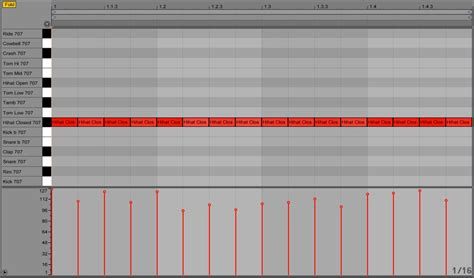 drum pattern velocity humanizing drums with velocity effect in ableton live dj
