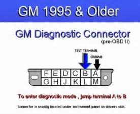 1995 buick park avenue obd pinout problem computer problem 1995