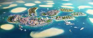 How To Reach World From Dubai Of Europe The World Resort Dubai E Architect