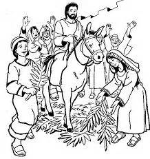 coloring page jesus rides into jerusalem 1000 images about bible lessons crafts on