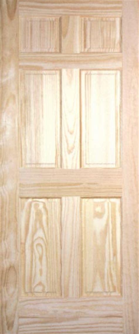 Raised Panel Closet Doors Pine Raised Panel Interior Doors Clear And Knotty Pine