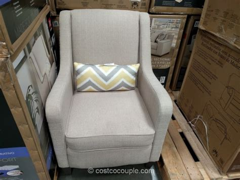 antonia fabric accent chair and ottoman costco furniture accent chairs accent chairs living