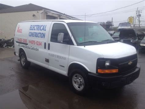 how it works cars 2003 chevrolet express 2500 user handbook buy used 2003 chevrolet express 2500 not salvage damaged work van project car in deer park new