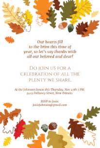 thanksgiving invitation templates the plenty free printable thanksgiving
