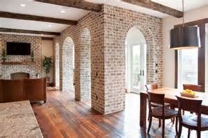 Whitewash brick exterior traditional for farmhouse exterior and pavers