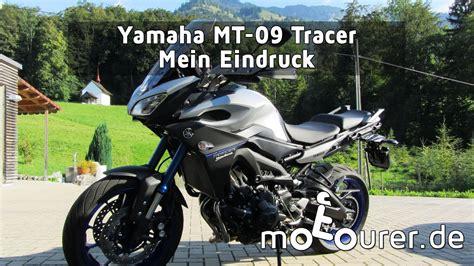Tieferlegung Yamaha Tracer 900 by Yamaha Mt 09 Tracer 900 Mein Eindruck Funnydog Tv