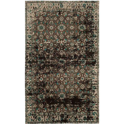 teal area rug 5 x 8 safavieh classic vintage teal beige 5 ft x 8 ft area rug