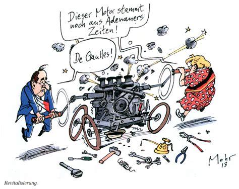Karikatur 4d caricature de mohr sur la revitalisation du franco