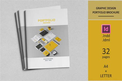 graphic design portfolio template 70 modern corporate brochure templates design shack